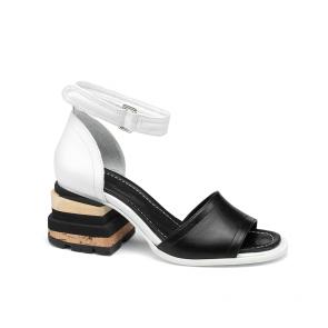 Дамски сандали от естествена кожа DV-136-05