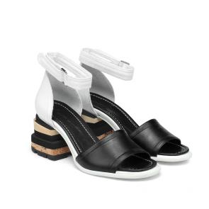Дамски сандали от естествена кожа DV-136-05 - 2