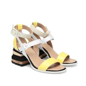 Дамски сандали от естествена кожа DV-136-10/1 - 2