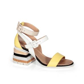 Дамски сандали от естествена кожа DV-136-10