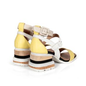 Дамски сандали от естествена кожа DV-136-10 - 2