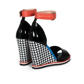 Дамски сандали от естествена кожа DV-2349-30 - 2