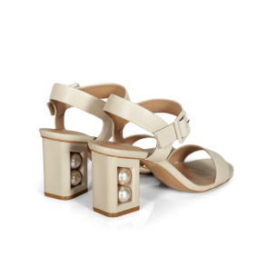 Дамски сандали от естествена кожа DV-239-01 - 2