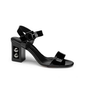 Дамски сандали от естествен лак DV-239-01