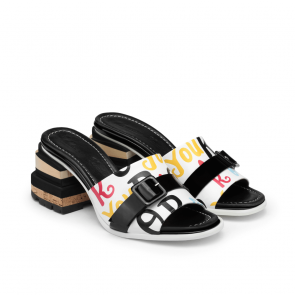Дамски чехли от естествена кожа DV-239-12 - 2