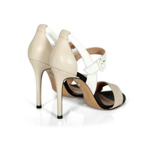 Дамски сандали от естествена кожа DV-709-106 - 2