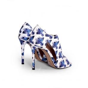 Дамски обувки от естествена кожа DV-709-48 - 2