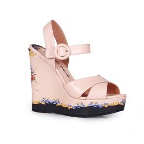 Дамски сандали от естествена кожа DV-809-156