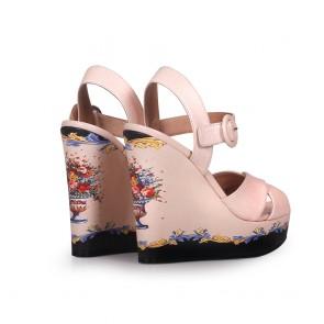 Дамски сандали от естествена кожа DV-809-156 - 2