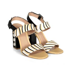 Дамски сандали от естествена кожа DV-81-129 - 2