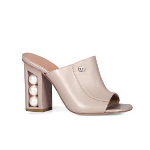 Дамски чехли от естествена кожа DV-81-143
