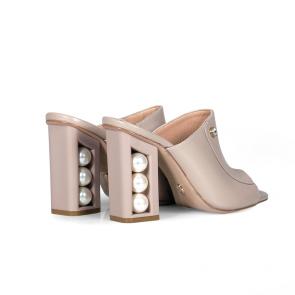 Дамски чехли от естествена кожа DV-81-143 - 2