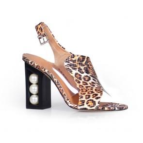 Дамски сандали от естествена кожа DV-81-149