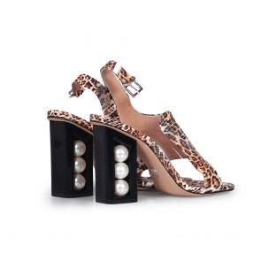 Дамски сандали от естествена кожа DV-81-149 - 2