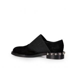 Дамски обувки от естествен велур - 2