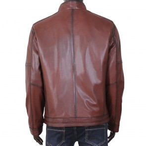 Мъжко яке от естествена кожа ENV-3357 - 2