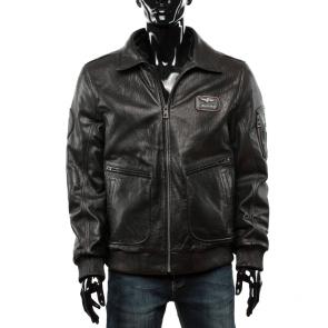 Мъжко яке от естествена кожа  ENV-3429