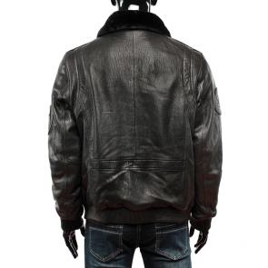 Мъжко яке от естествена кожа  ENV-3429 - 2