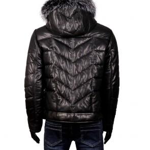 Мъжко яке от естествена кожа ERG-1520 - 2