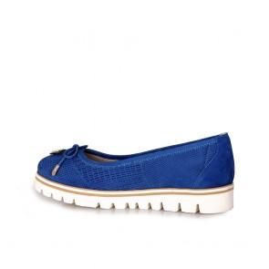 Дамски обувки от естествен набук - 2