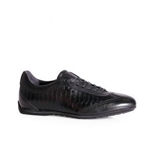 Мъжки спортни обувки от естествена кожа ETR-8782