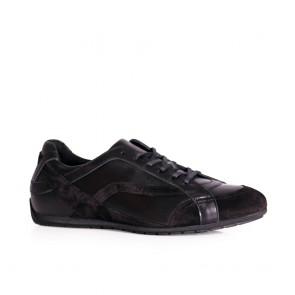 Мъжки спортни обувки естествена кожа ETR-8789