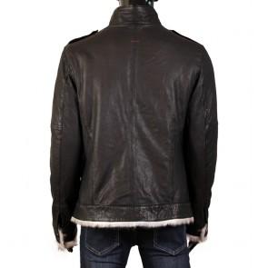 Мъжко яке от естествена кожа EZ-8821 - 2
