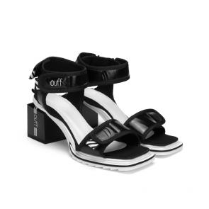 Дамски сандали от текстил FPF-A20 - 2