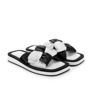 Дамски чехли от естествена кожа FPF-A24 - 2