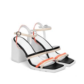 Дамски сандали от естествена кожа FPF-A39 - 2