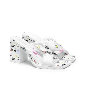 Дамски сандали от естествена кожа FPF-A78 - 2