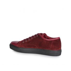 Мъжки обувки от естествена кожа и велур - 2