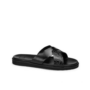 Мъжки чехли от естествена кожа GN-193849