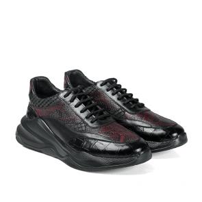 Мъжки обувки от естествена кожа GN-196037 - 2
