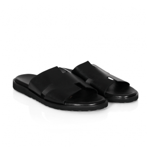 Мъжки чехли от естествена кожа GN-33329 - 2