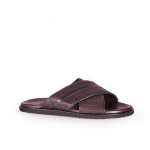 Мъжки чехли от естетсвена кожа
