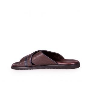 Мъжки чехли от естетсвена кожа  - 2