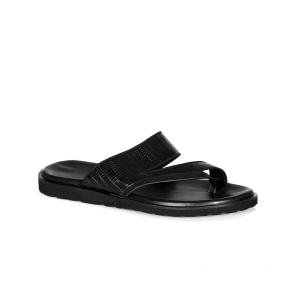 Мъжки чехли от естествена кожа GN-3369/1