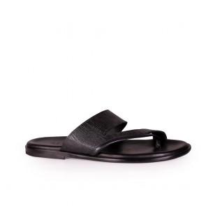 Мъжки чехли от естествена кож