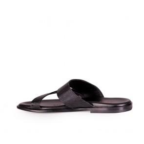 Мъжки чехли от естествена кож - 2