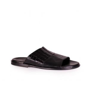 Мъжки чехли от естестсвена кожа