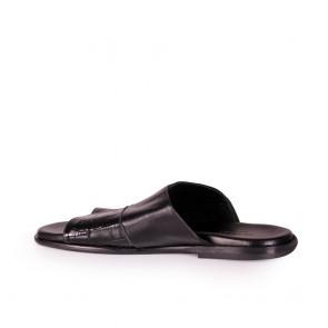 Мъжки чехли от естестсвена кожа - 2
