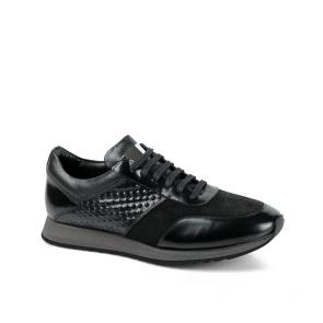 Мъжки обувки от естествена кожа и велур GN-470563