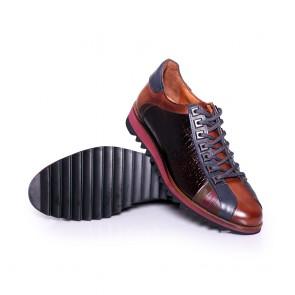 Мъжки обувки от естествена кожа GN-640033 - 2