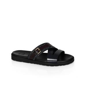 Мъжки чехли от естествена кожа GN-94668