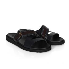 Мъжки чехли от естествена кожа GN-94668 - 2