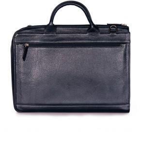 Мъжка бизнес чанта от естествена кожа  - 2