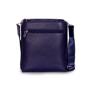 Мъжка чанта от естествена кожа - 2
