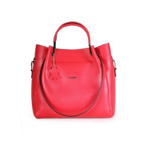 Дамска чанта от естестсвена кожа
