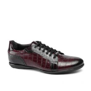 Мъжки обувки от естествена кожа и лак GRI-1720-16